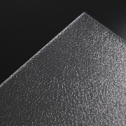 Standard plade PC råglas klar