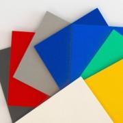 Opskummet PVC FoamaLite® farvet plader