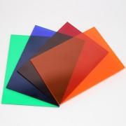 Akryl farvet støbt Crylux™ transparent