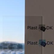 Standard plader extruderet Crylon® transparent akryl