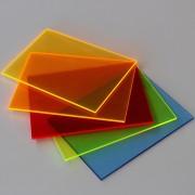 Standard plader NEON Crylux™ farvet akryl