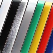 Standard plader Alusandwich Neobond® farvet plader